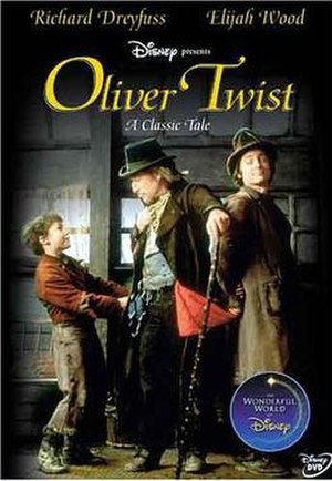 Oliver Twist (1997 film) - Image: Oliver twist dvd cover