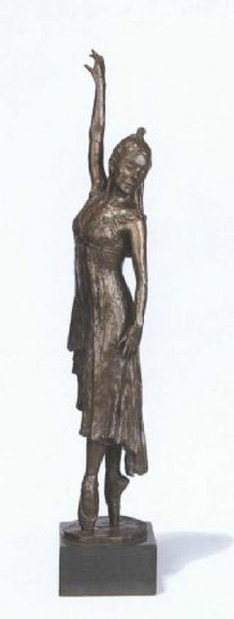 Ondine (ballet) - Dame Margot Fonteyn as Ondine in bronze by Nathan David, 1974