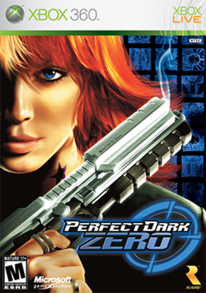 Perfect Dark Zero - North American box art
