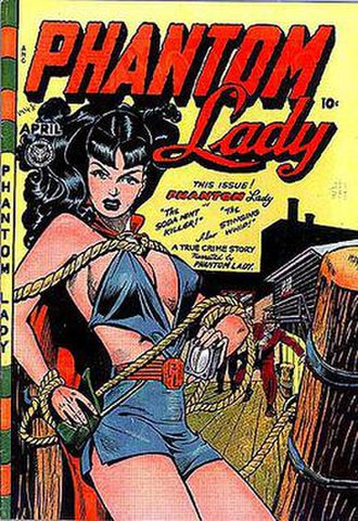Fox Feature Syndicate - Image: Phantom Lady 17
