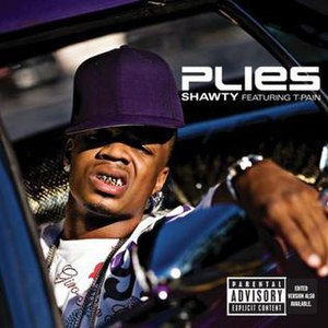 Shawty (song) - Image: Plies shawty cover