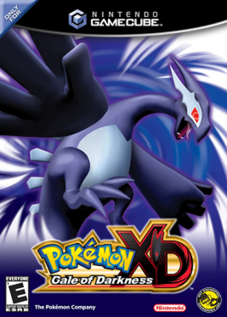 Pokémon XD: Gale of Darkness - North American cover art.
