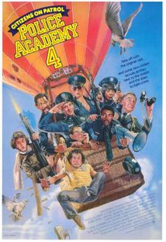 Police Academy 4: Citizens on Patrol - Theatrical poster by Drew Struzan