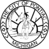 Official seal of Pontiac, Michigan