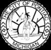 Officieel zegel van Pontiac, Michigan