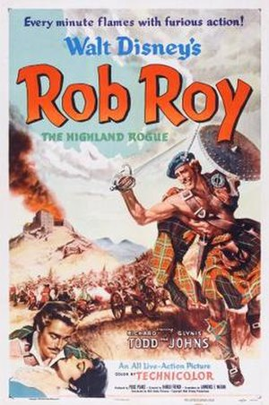 Rob Roy, the Highland Rogue - Image: Poster of the movie Rob Roy, the Highland Rogue