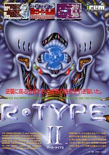 R-Type II arcade flyer
