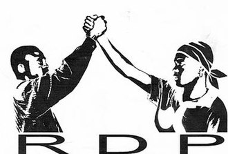 Rally for Democracy and Progress (Namibia) - Image: RDP logo 3