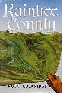 <i>Raintree County</i> (novel) book by Ross Lockridge, Jr.