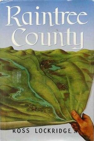 Raintree County (novel) - First edition (publ. Houghton Mifflin)