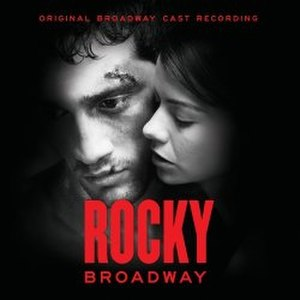 Rocky the Musical - Image: Rocky Broadway (Cast Cd)