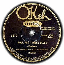 Roll and Tumble Blues single cover.jpg