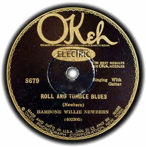 Rollin' and Tumblin' - Image: Roll and Tumble Blues single cover