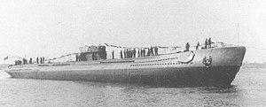 Italian R-class submarine - Image: Romolo class submarine