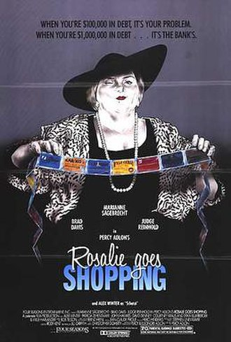 Rosalie Goes Shopping - Movie poster