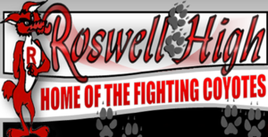 Roswell High School (New Mexico) - Image: Roswell Coyote Logo