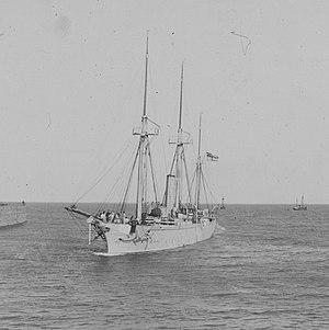 SMS Albatross (1871) - Albatross sometime in the 1880s