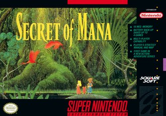 Secret of Mana - Image: Secret of Mana Box