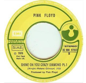 Shine On You Crazy Diamond - Image: Shine On You Crazy Diamond Part One