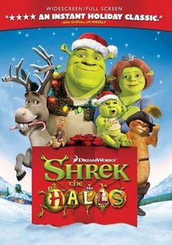 shrek the halls - Classic Animated Christmas Movies