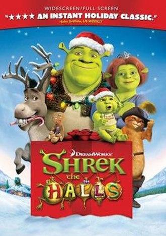 Shrek the Halls - DVD cover
