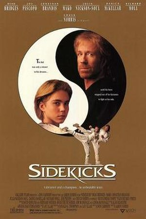 Sidekicks (1992 film) - Promotional film poster