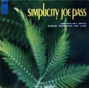 Simplicity (Joe Pass album) - Image: Simplicity Joe Pass