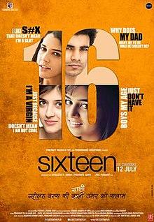 Sixteen Official Poster, 2013.jpg