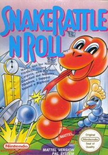 <i>Snake Rattle n Roll</i> 1991 video game