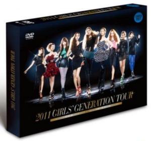 Girls' Generation Tour (DVD) - Image: Snsd 2011tourdvd