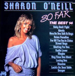 So Far (Sharon O'Neill album) - Image: So Far by Sharon O'Neill