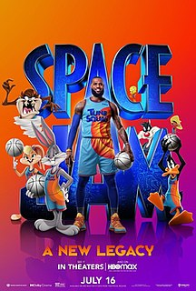 <i>Space Jam: A New Legacy</i> 2021 American live-action/animated sports comedy film