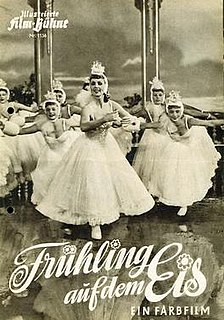 <i>Spring on Ice</i> 1951 Austrian musical comedy film directed by Georg Jacoby