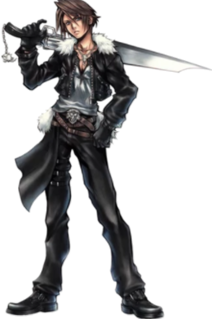 Squall Leonhart fictional character in Final Fantasy 8