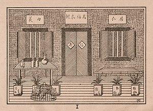 Allah jang Palsoe - Image: Stage design I, Allah jang Palsoe, p 18