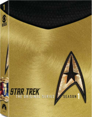 Star Trek: The Original Series (season 1) - DVD cover