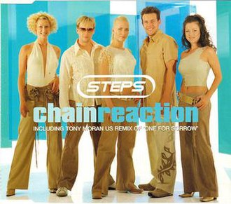 Chain Reaction (Diana Ross song) - Image: Stepschain