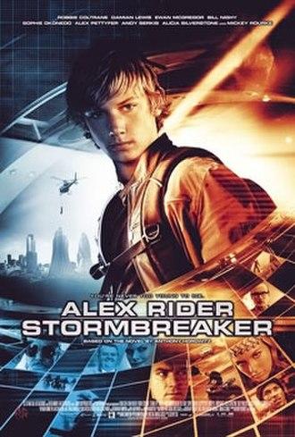 Stormbreaker (film) - United States film poster