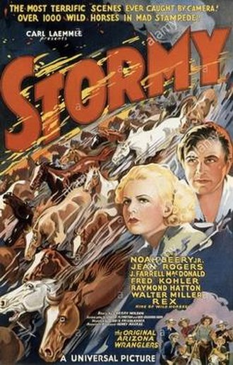 Stormy (film) - Image: Stormy us poster 1935