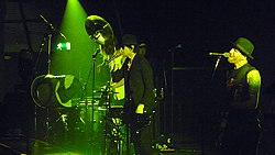 Street Drum Corps performing at the M.E.N. Arena supporting Thirty Seconds to Mars on the Into The Wild Tour.