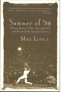 <i>Summer of '98</i> book by Mike Lupica