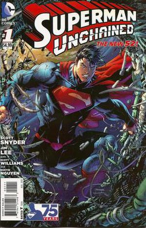 Superman Unchained - Image: Superman Unchained 1