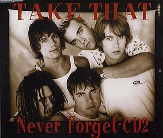 Never Forget (Take That song) - Image: Take that never forget CD2