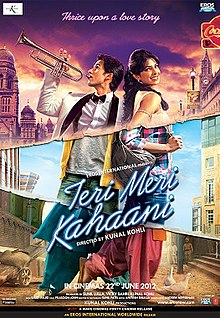 220px Teri Meri Kahaani poster Download Teri Meri Kahaani (2012) | Official Trailer | Bollywood romance film