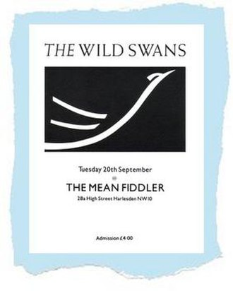 The Wild Swans (band) - Stylised artwork on a flyer