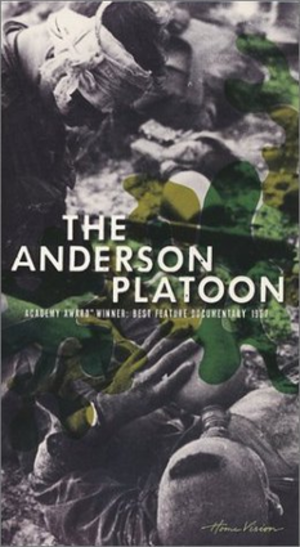 The Anderson Platoon - VHS cover image