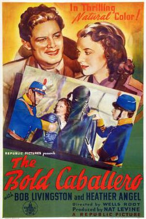 The Bold Caballero - Theatrical release poster