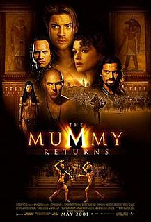 <i>The Mummy Returns</i> 2001 film by Stephen Sommers