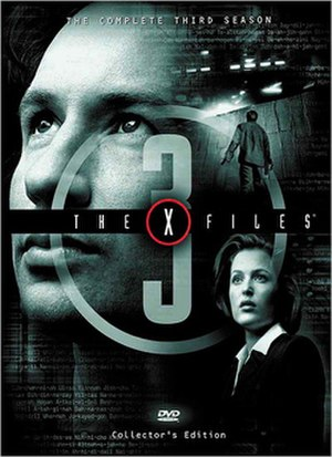 The X-Files (season 3) - DVD cover