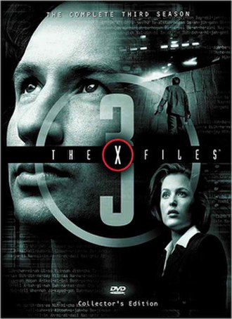 The X-Files (season 3) - DVD cover